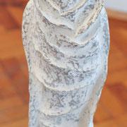 """Kokoon,Wandlung,Befreiung"" Papmaché Acryl 2011"