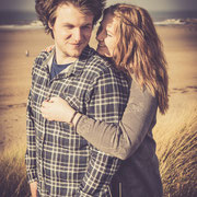 Croyde Beach Engagement Session North Devon Indigo Perspective Photography