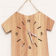 #reloj #promocional en #madera CODIGO 338769  Tecnica #serigrafia o #grabado laser