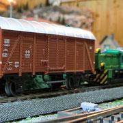 KÖF mit Güterwagen