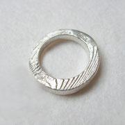 Feinsilberring aus 1000er Silber