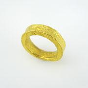 Feingoldring aus 1000er Gold