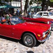 Triumph TR 6 -made by Karmann-