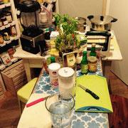 Vegan und glutenfreie Kochworkshops