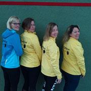 unsere Hot Iron Trainer v.l.n.r.: Ina Gössling ,Inka Richter, Maike Klün, Angelika Reiter