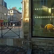 Bayeux, en allant acheter le pain. Jeudi 26 novembre 2020.