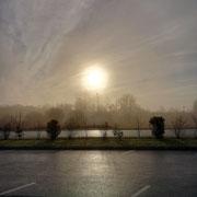 Le by-pass, Bayeux. Lundi 7 décembre 2020.