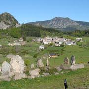 Le village de Borée - Tour du Mézenc - juin 2013