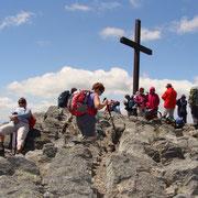 Au sommet du Mezenc - juin 2013