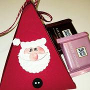 Dreiecksbox Weihnachtsmann