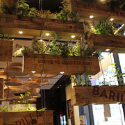 Restaurant Barilla, aussi beau que bon