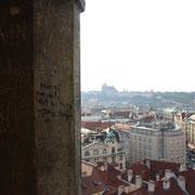 La capitale tchèque au loin
