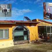 Kit solar fotovoltaico para iluminación, en finca de recreo de Villavante (Léon)