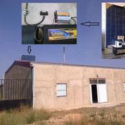 Kit solar fotovoltaico para electrificación de nave en Benavente (Instalador: Felipe Gil - Tel.: 676.901.195)