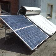 Kit solar fotovoltaico de autoconsumo eléctrico, en Quilós (El Bierzo - León)