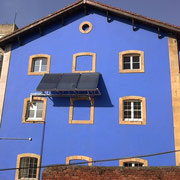 Instalación solar térmica, en Centro Educativo