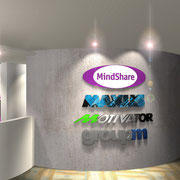 Logo Wall Rendering