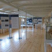 Ausstellungssystem im Binnenschifffahrts-Museum Oderberg - Schiff RIESA