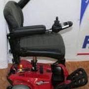 Seitansicht Elektromobil Mobilis M35 rot