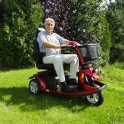 Aktiv unterwegs mit einem Elektro Scooter