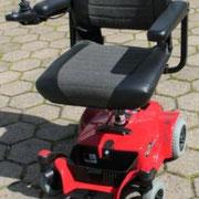 höhenverstellbarer Sitz Elektromobil Mobilis M35 rot