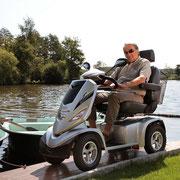 Mit dem Elektromobil vom Experten unterwegs im Grünen