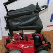 faltbarer Sitz Elektromobil Mobilis M35 rot