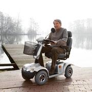 Mobil unterwegs mit einem Elektroscooter