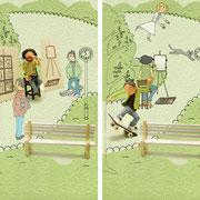 parkにて