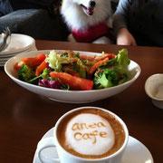 今回はanea cafeで♪
