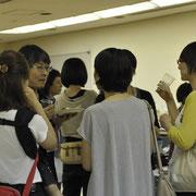 市民科学研究室の上田先生を囲んで