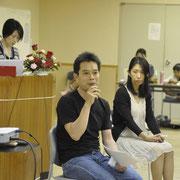 福島の今を語るフクシマン・マサさん