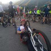 Jean Marc et quelques cyclistes