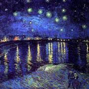Una Noche Estrellada sobre el Ródano