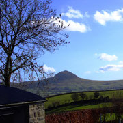 close to Slemish mountain where St Patrick was converted to Christianity...