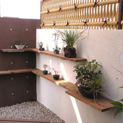 和盆栽棚造作