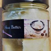 80g unraffinierte Shea Butter im Glas - neues Etikett, gleiches Produkt