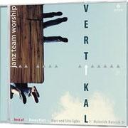 Vertikal - Auf diesem neuen Sampler sind alle aktuellen Janz Team-Künstler (Danny Plett, Marc & Silvi Eglès, Heinrich Reisich) sowie Anja Lehmann vertreten. Gemeinsam haben sie eine Ausrichtung: Vertikal! Best Nr. 556130