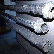 Anciennes canalisations de plomb