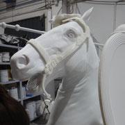 Ampliación de escultura de Caballo
