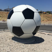 Balón GIGANTE para una Rotonda  ....