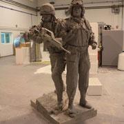 ampliación para fundición, monumento militar