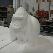 Busto de gorila