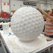 bola de golf, reclamo en campo de golf