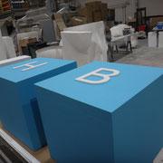 cubos de letras