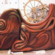 carra de teatro, barco