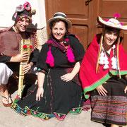 RODRIGO, RAQUEL Y CINTIA