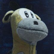 「キリンの肖像」W318×H410  acryl / canvas