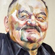 Portrait in Öl - Alfred Hrdlicka (50x60cm)