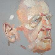 Portraitskizze in Öl (50x50cm)